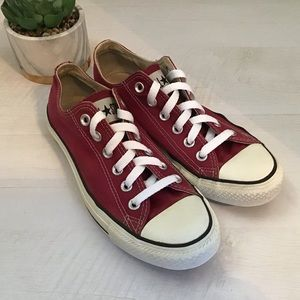 Converse Chuck Taylor All Star Red Sneakers